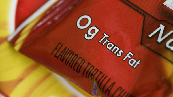 Blood levels of trans fat declined 58 percent from 2000 to 2008. FDA began requiring trans-fat labeling in 2003.