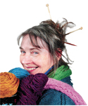 Take part in World Wide Knit in Public Day at bog boardwalk