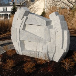 Sculpture Symposium closes with unveiling of works at University of Maine