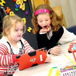 iPads distributed to Auburn kindergartners