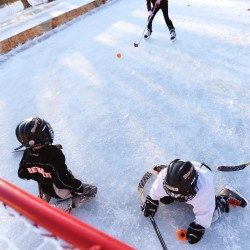 A mom's brush with ice hockey