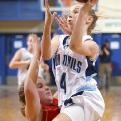 Central girls use free throws to beat Bucksport