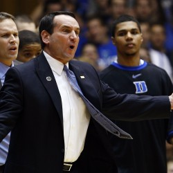 Coach K rips UVA for allowing fans to rush court