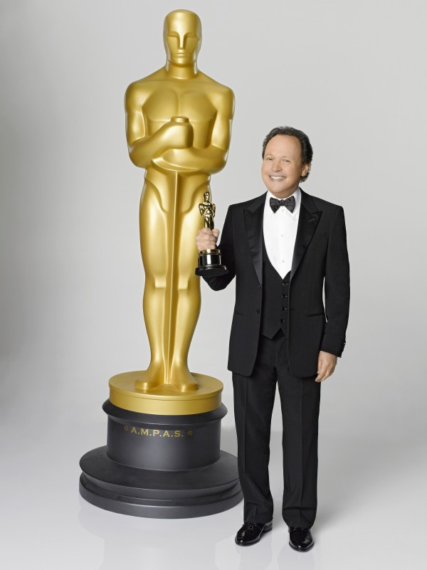 Billy Crystal serves as host for the 84th Academy Awards, which will be presented on Sunday, February 26, 2012, at the Kodak Theatre in Los Angeles, California.