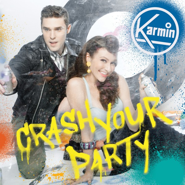 Singers Amy Heidemann and Nick Noonan of the band Karmin
