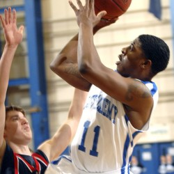 Three-pointer, clutch free throws help Lee boys edge Calais in overtime