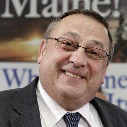 Education, energy top discussions for LePage at Newport town hall meeting