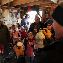 Warm weather affects maple syrup production, but annual celebration still delicious