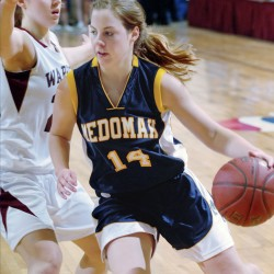 Twin sisters provide spark for unbeaten Nokomis girls basketball team as showdown with MDI looms