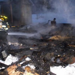 Chickens die in Hudson garage fire