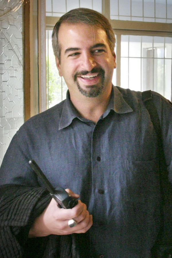 This Nov. 26, 2003, photo provided by The Washington Post shows then-Post reporter Anthony Shadid in Baghdad. Shadid died Thursday, Feb. 16, 2012, apparently of an asthma attack, while on assignment for the New York Times in Syria, the paper said. He was 43.