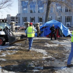 OccupyMaine members plan political action, volunteer work as camp disbands