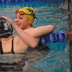 Confident MDI girls beat Bangor for PVC swim title