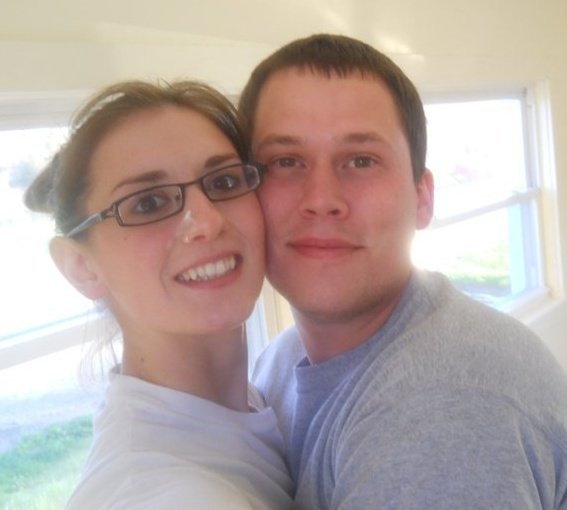 Cheyanne Nowak (left) and Daniel Porter.