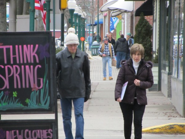 Retail sales in the Midcoast increased 2 percent in 2011 from 2010. Downtown Rockland merchants are looking forward to 2012.
