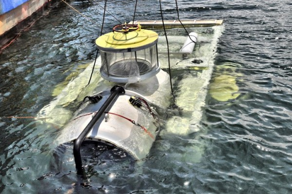 Sub Sea Research LLC uses this remotely controlled underwater vehicle to search the ocean floor for shipwrecks. In the coming weeks, the Portland outfit plans to bring to the surface platinum bars sunken off the coast of Cape Cod along with the freighter Port Nicholson.