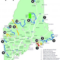3 scenic byways in state aided by federal money