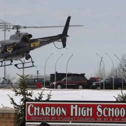 One hurt in self-inflicted shooting at Ohio high school