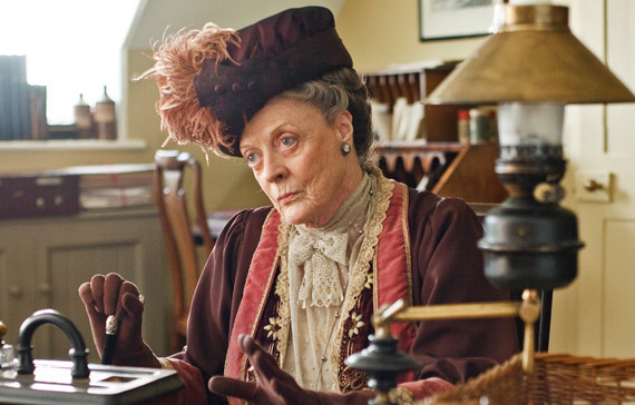 Dame Maggie Smith plays the Dowager Countess of Grantham on &quotDownton Abbey.&quot