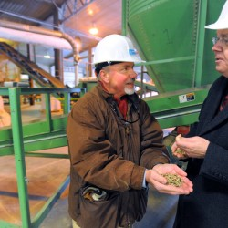Maine wood pellet companies rewarded by USDA for efforts in biofuels