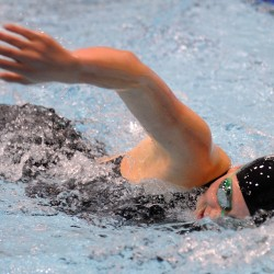 Cape tops Brunswick for Class A girls state swim title; Bangor finishes fourth