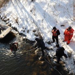 Divers find no clues of Ayla in search of Kennebec River