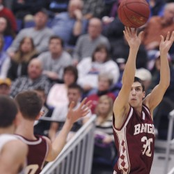 McCue leads Hampden boys basketball team to overtime victory over Bangor