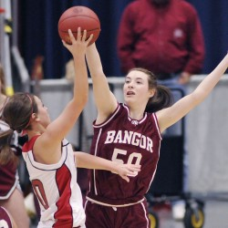 Bangor, Cony coaches say pregnancies had little effect on coaching