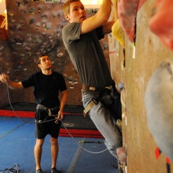 College to host indoor rock climbing contest Dec. 11