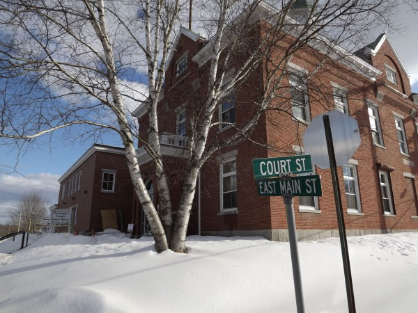 Piscataquis County Courthouse in Dover-Foxcroft opened for court for the first time since the second phase of renovations were completed on Monday, Feb. 6, 2012. The $5 million bonded-project is expected to be completed in mid-April.