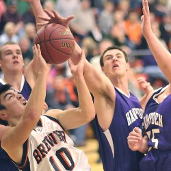 Broncos' inside strength overwhelms Brewer boys