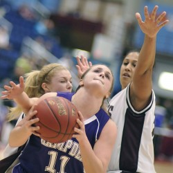 Arnold carries Edward Little past Bangor girls