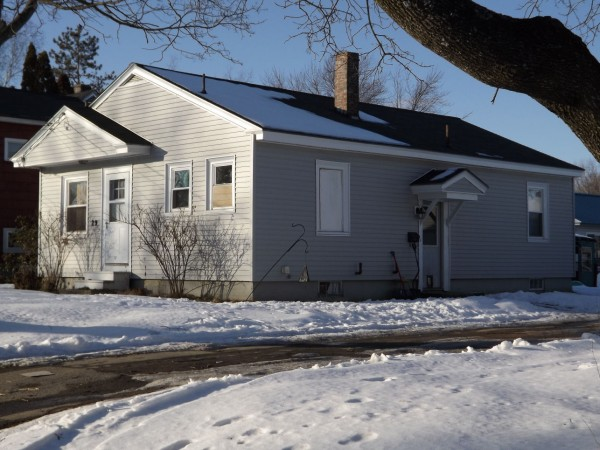 The Violette Avenue home in Waterville where Ayla Reynolds went missing seven weeks ago was vandalized on the night of Feb. 3, 2012. Waterville police are searching for suspects who broke two windows on the home.