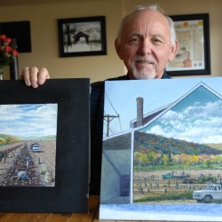 Mural honoring Fort Kent farmers set for unveiling on Sunday