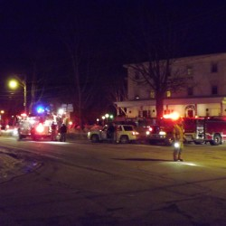 Heater suspected cause of fire in Newport apartment building