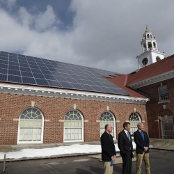 Unity College Shows Off Their New Solar Array this Weekend