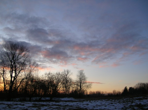 Sunrise during February 2010.