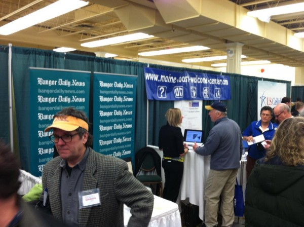 Participants at the Penobscot Bay Regional Chamber of Commerce's Business and Community Expo on Wednesday.