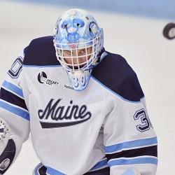 UMaine goaltending situation up in the air heading into Merrimack game
