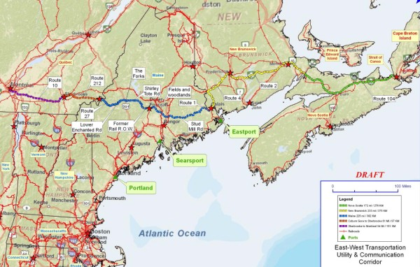 Canadians told eastwest highway through Maine a gateway to