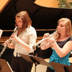 UMaine's Jazz Ensemble, Symphonic Band join musical forces