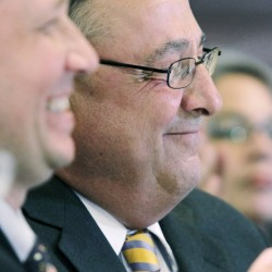 Accusation politics: Teachers union vs. LePage