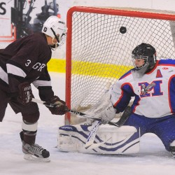 Greely tops Messalonskee for second straight 'B' hockey crown