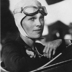 Amelia Rose Earhart honors namesake, returns from around-the-world flight