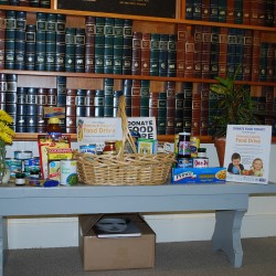 Food Drive Reaches Milestone