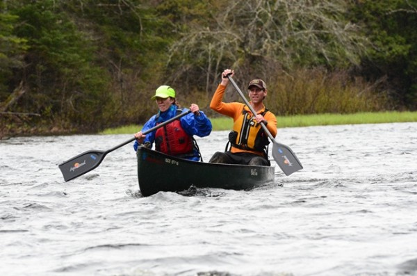 Canoeing on the Baskahegan Stream is 7+ miles long. Kayaks are welcome in the open division.