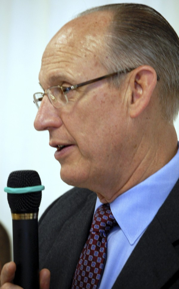 Cianbro Corp. CEO Peter Vigue has been stumping for construction of an east-west highway across northern Maine for many years. On Thursday at a standing-room-only forum on the topic in the New Brunswick community of St. Stephen, Vigue said connecting Atlantic Canada and Downeast Maine with the Canadian and American interstate highway systems is vital to Maine's long-term economic survival.