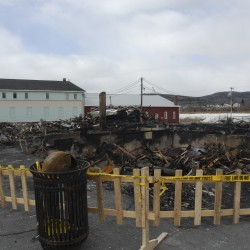 Fire destroys Fort Kent business landmark, threatens other buildings