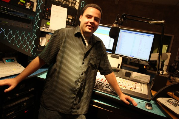 NESCom student Gino Devaney interned with Clear Channel in Portsmouth, N.H. He now works at 106.7 KROQ radio in California.