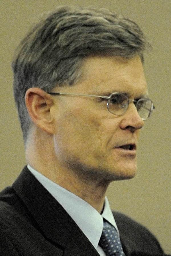 Waldo County District Attorney Geoffrey Rushlau